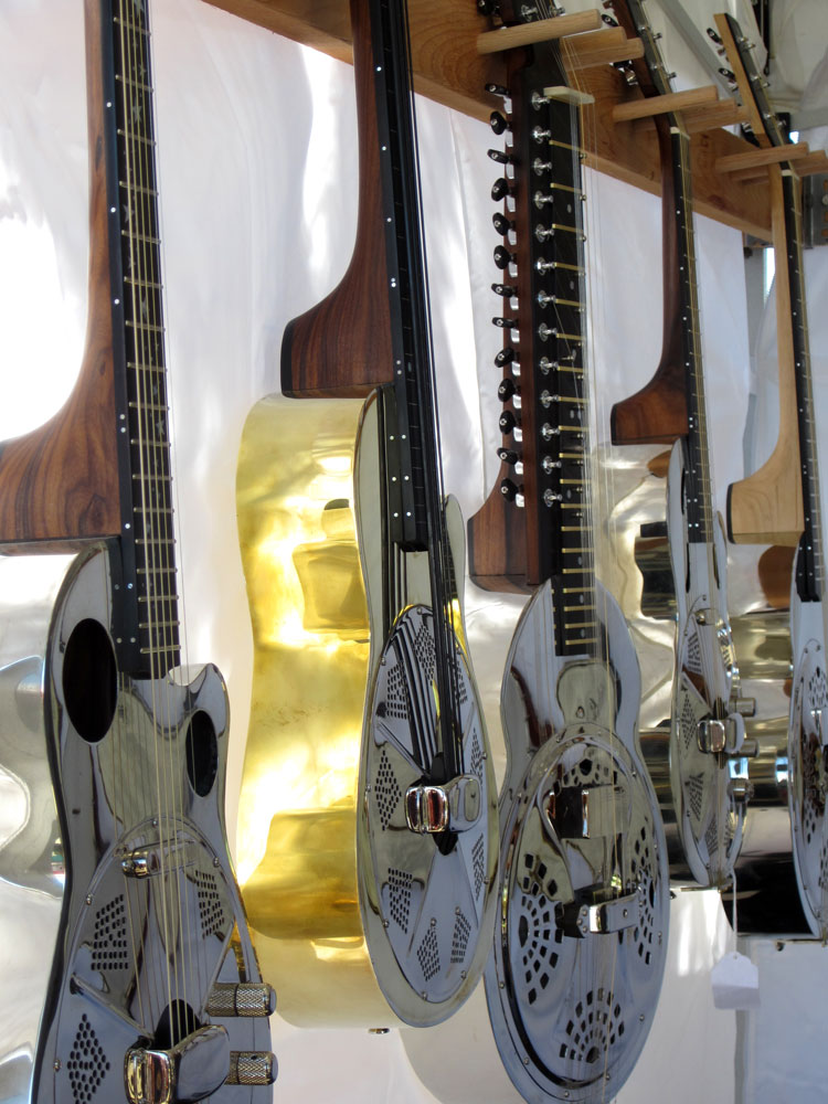 Guitars as works of art!