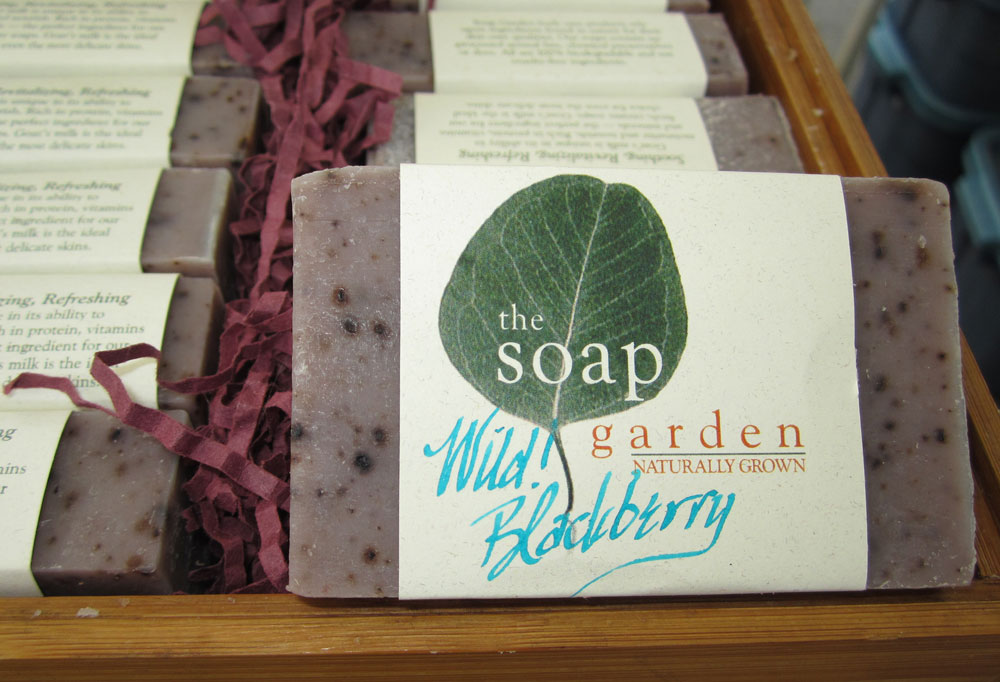 Wild Blackberry Soap from Soap Garden