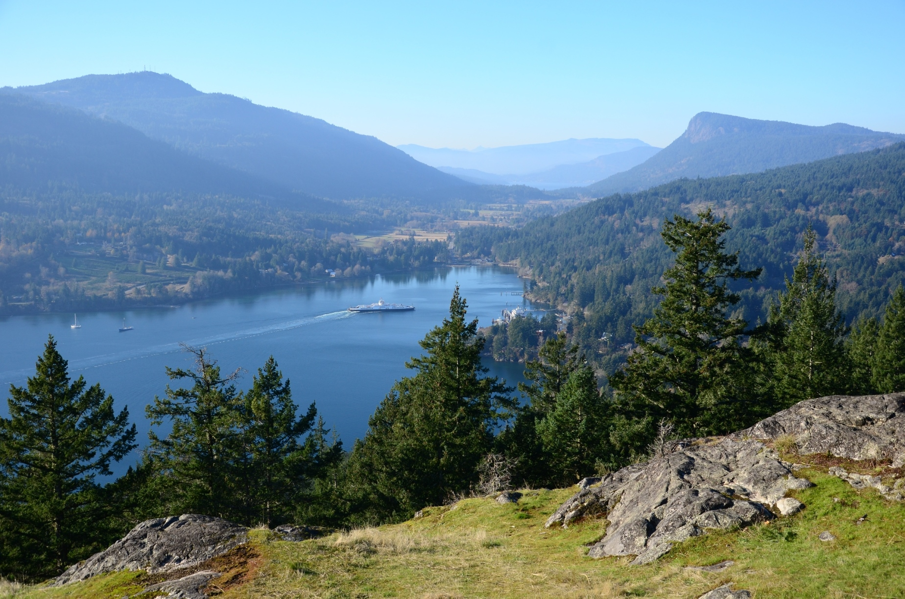 Reginald Hill Trail Hiking On Salt Spring Island From