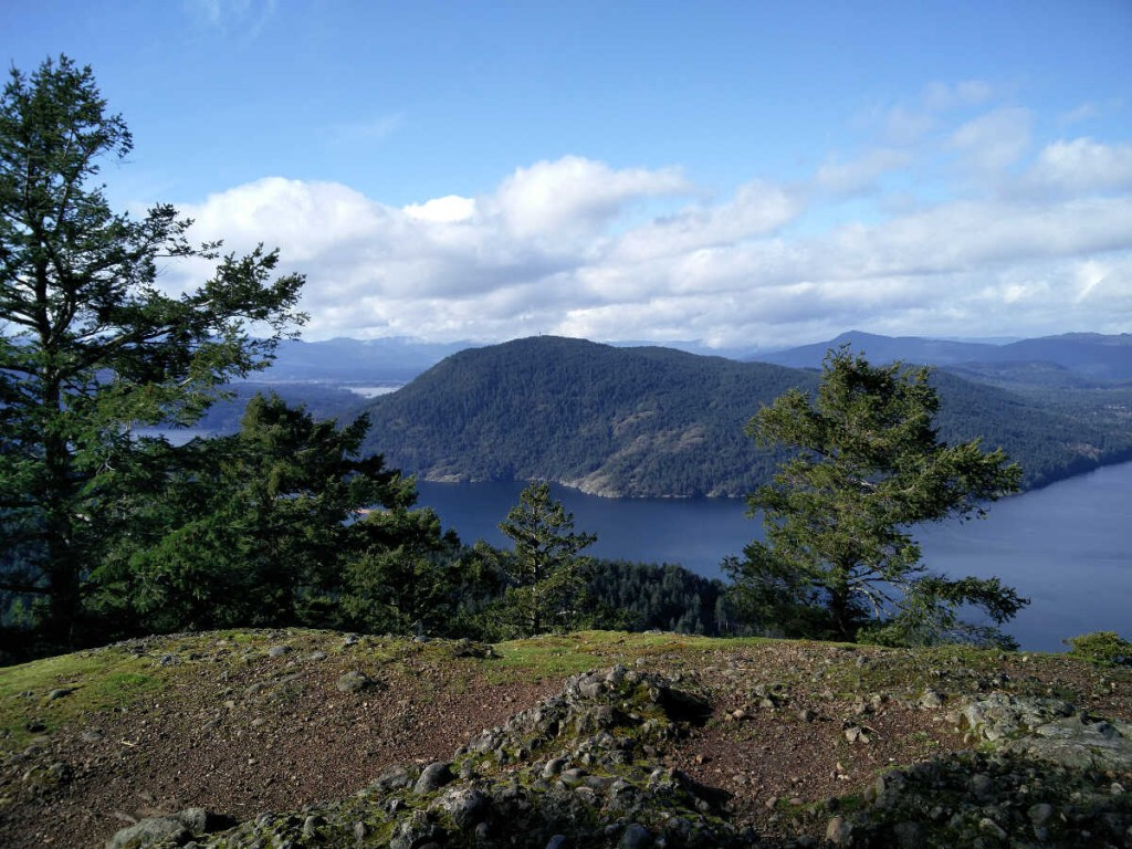 Mt Erskine via Juniper -Salt Spring Island Hike 16