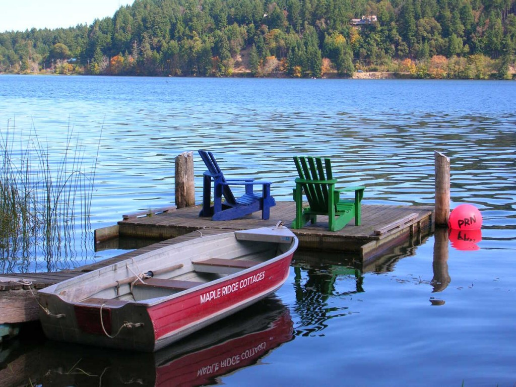 Salt Spring Island Accommodation - Maple Ridge 1