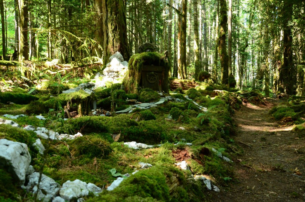 Salt Spring Island - Mayer Trail - Fairy Village 2