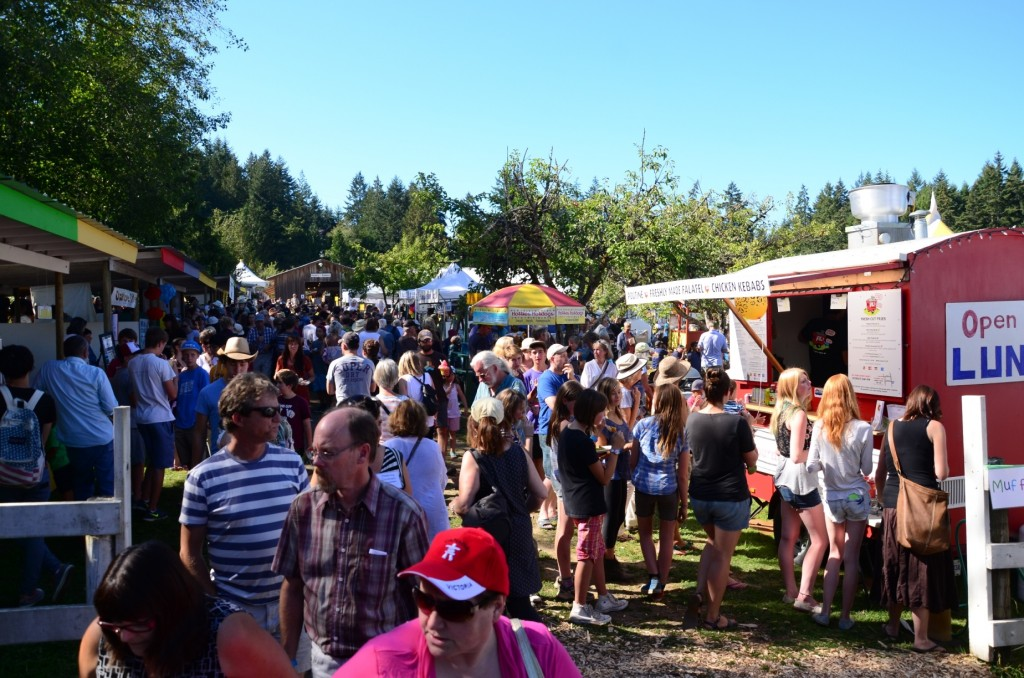 Bounty of Salt Spring at the 2014 Salt Spring Island Fall Fair