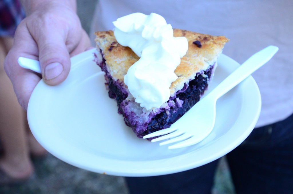 Pie at the 2014 Salt Spring Island Fall Fair