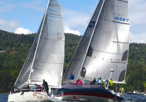 Round Salt Spring Sailing Race - image of boats