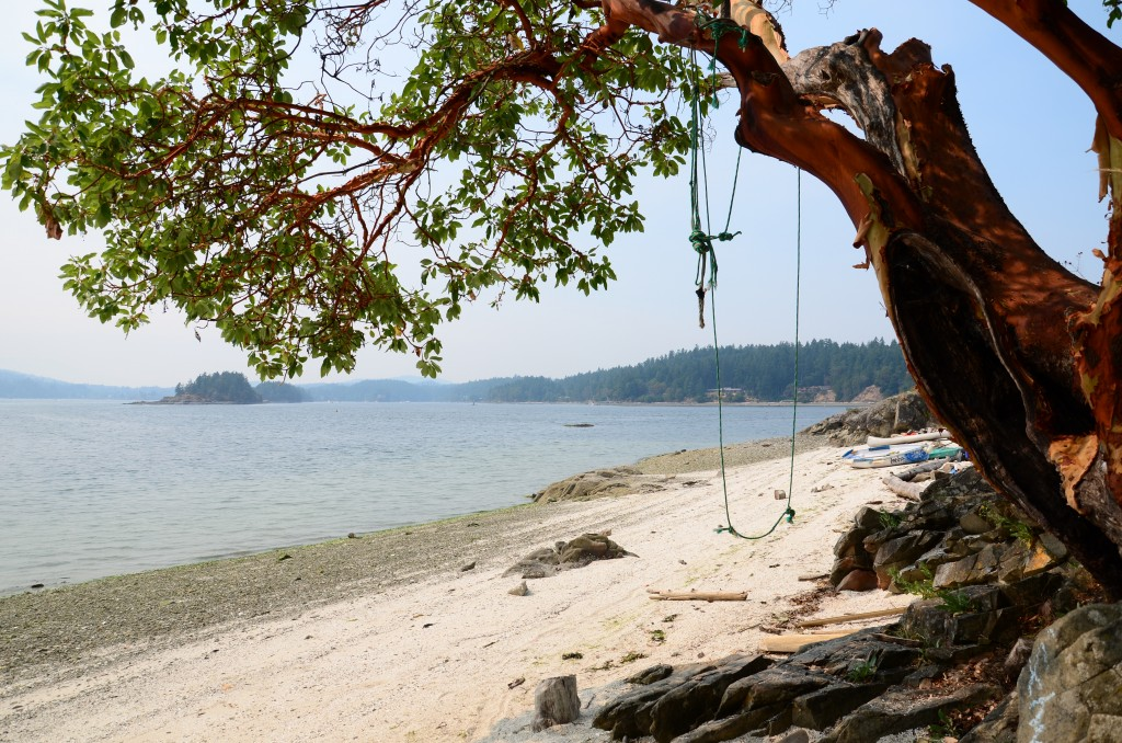 Chocolate Beach Salt Spring Island Beaches And Lakes From