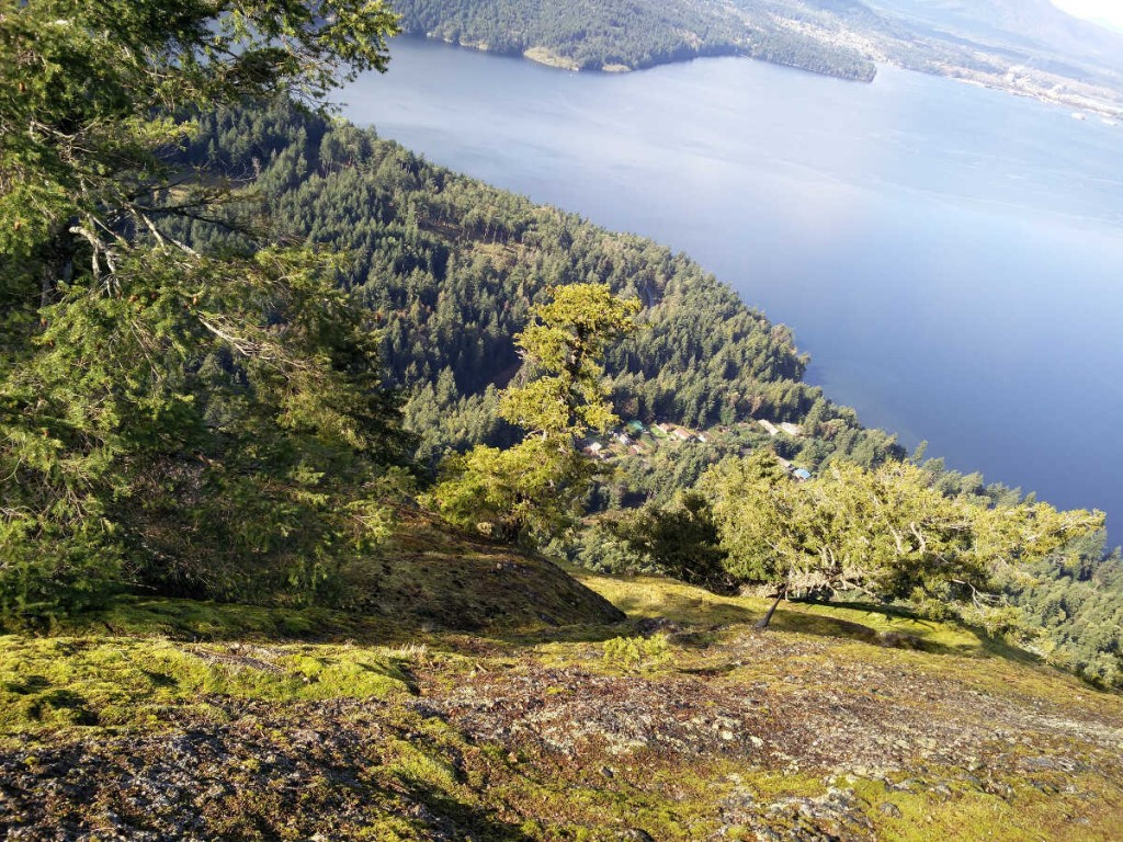 Mt Erskine via Juniper -Salt Spring Island Hike 21